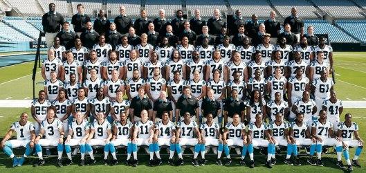 The Carolina Panthers (Carolina Panthers photo)