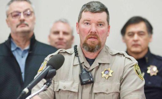 Haney County Sheriff Dave Ward