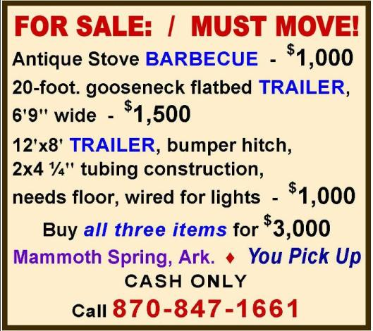 BBQ and Trailers 3-19-16