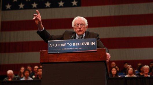 Bernie Sanders Tuesday said he welcomes the prospect of a debate in New York before the primary. (BernieSanders.com photo)