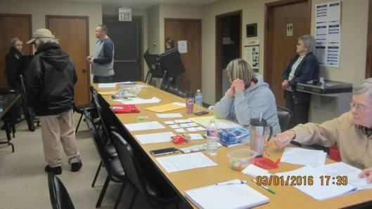 Voting Tuesday at Dalton Fire Station in Randolph County  (Hill 'n Holler staff photo)
