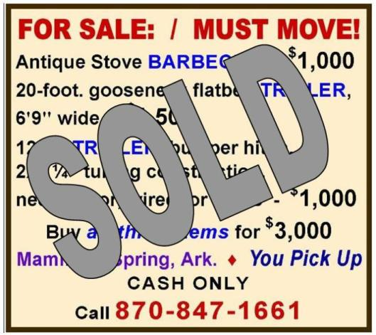 BBQ and trailers - SOLD