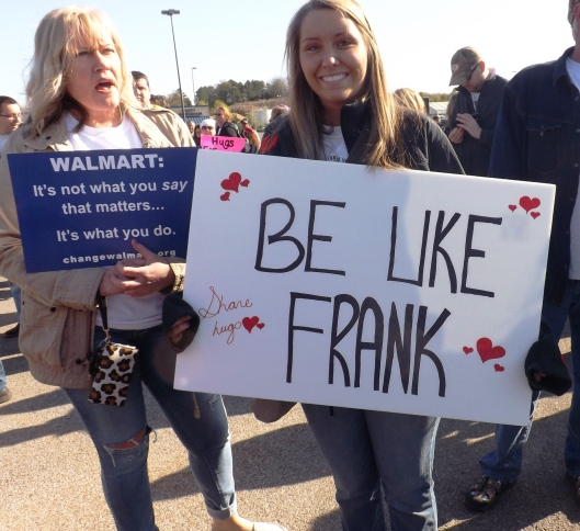 Two fans of Frank (Staff photo by Mariann Hyslop)