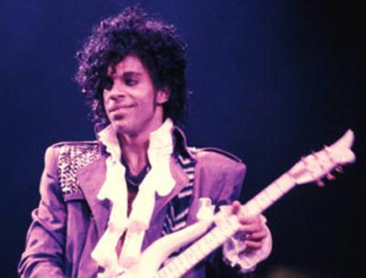 "Prince in 1984, when he introduced ""Purple Rain."""