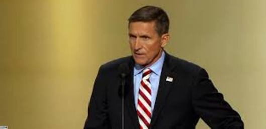 Lt. Gen. Michael Flynn spoke at the Republican National Convention Monday night. (C-Span photo)