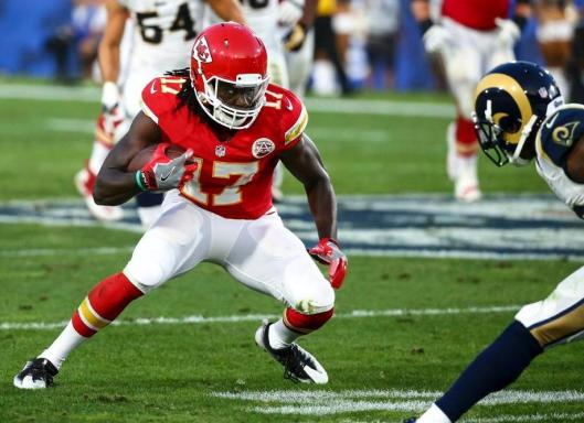 Chiefs wide receiver Chris Conley gained 66 yards with three receptions.  (Kansas City Chiefs Photo)