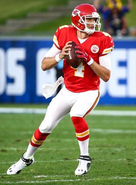 Backup quarterback Nick Foles took over for Alex Smith.  (Kansas City Chiefs Photo)