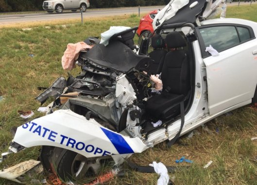 State Trooper wreck 8-8-16