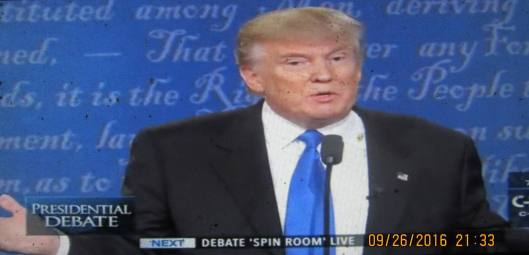 Donald Trump speaks. (Hill 'n Holler photo from C-SPAN live stream)