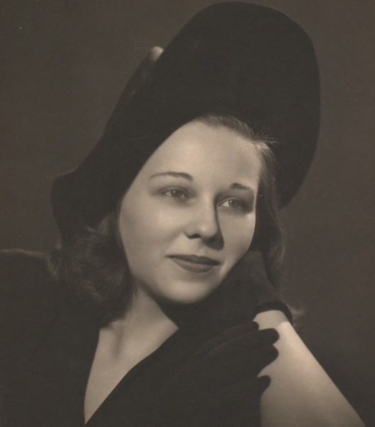 Dorothy Ellis in her younger years
