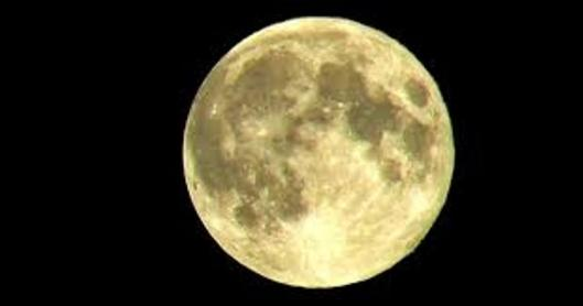 What the Super Moon will look like (public domain clip art)