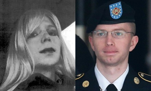Chelsea and Bradley Manning